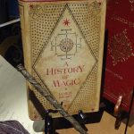 "Das Buch ""History of Magic"" aus den Harry Potter Filmen"